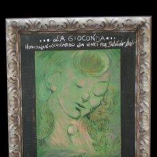 Arte: LA GIOCONDA. Lote 26700421