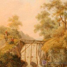 Arte: OLEO SOBRE TABLA FIRMADO JACOBUS HENDRICUS JOHANNES. AÑO 1811. Lote 25350967