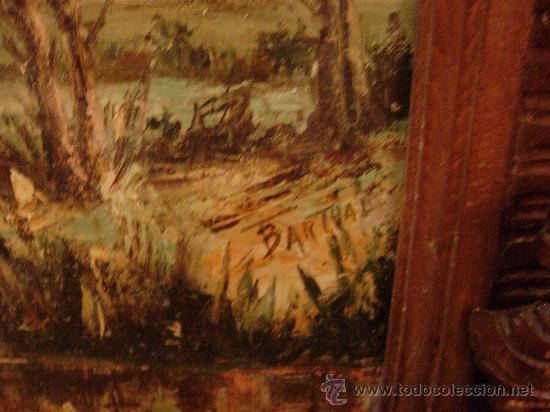 Arte: OLEO SOBRE LIENZO ENMARCADO.FIRMADO BARTUAL - Foto 4 - 20728620