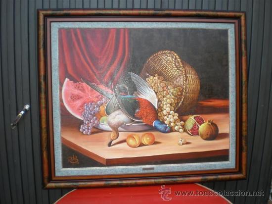 PINTURA AL OLEO BODEGON POR RAMON FIGUEREDO (Arte - Pintura - Pintura al Óleo Contemporánea )