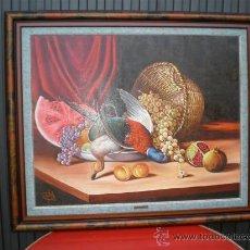 Arte: PINTURA AL OLEO BODEGON POR RAMON FIGUEREDO. Lote 17350625