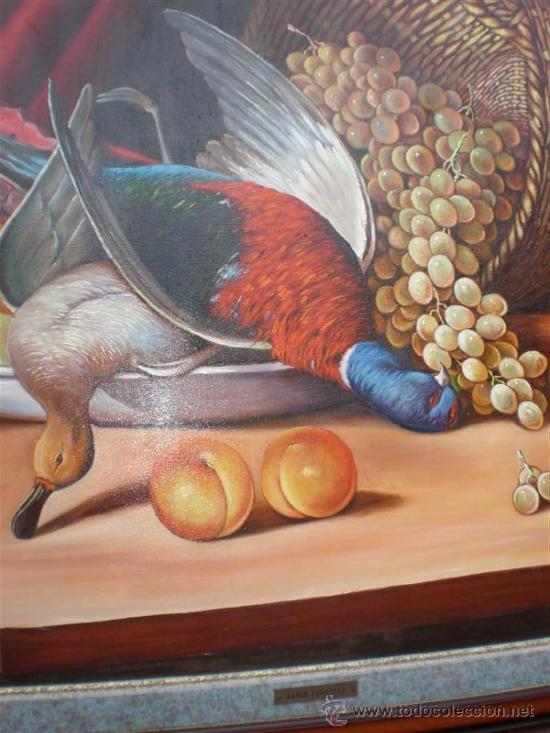 Arte: pintura al oleo bodegon por Ramon figueredo - Foto 3 - 17350625