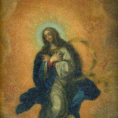 Arte: LA PURISIMA CONCEPCION. OLEO S/COBRE. SIGLO XVIII. MEDIDAS 36 * 26 CM. Lote 26232854