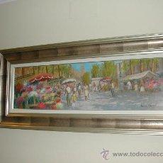 Arte: LAS RAMBLAS. Lote 27526398