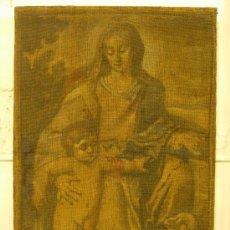 Arte: PINTURA VIRGEN Y NIÑO, SIGLO XVI. Lote 26491833