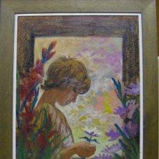 Arte: MANUEL SOTERAS CRUELLS. PINTOR, DIBUJANTE NACIDO EN MANRESA EN 1940.. Lote 27181629