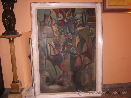 Arte: Jordi Bonet - Cubismo - El Beso - óleo sobre lienzo (1954) - Obra de Museo - Foto 7 - 25051122