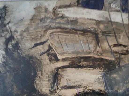 JORDI FANDOS, (BARCELONA 1967) CHAPA METÁLICA (Arte - Pintura - Pintura al Óleo Contemporánea )