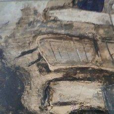 Arte: JORDI FANDOS, (BARCELONA 1967) CHAPA METÁLICA. Lote 27386321