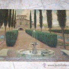 Arte: OLEO SOBRE LIENZO FIRMADO J. CARLES PRINCIPIOS SIGLO XX. Lote 26855280