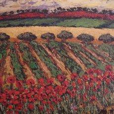 Arte: OLEO SOBRE LIENZO - BENJAMIN PALENCIA - FIRMADO B.PALENCIA 1956 - CON CERTIFICADOS. Lote 27138508