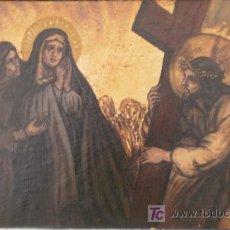 Arte: CUADRO -EL CALVARIO DE CRISTO. Lote 26718006