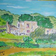Arte: POTRILES , 41X33, ÓLEO SOBRE LIENZO EN BASTIDOR DE CRESPO. Lote 19315407