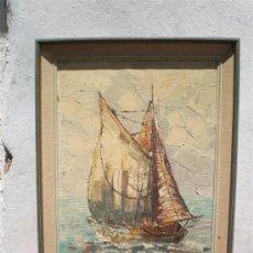 Arte - pintura al oleo marina a espatula - 19791170