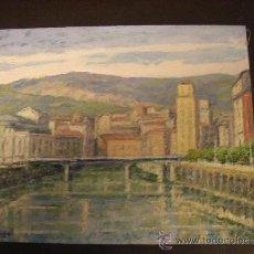 Arte: ÖLEO SOBRE TABLEX. 22X27 CM. JAVIER DE MIGUEL (VIZCAYA).. Lote 20057925