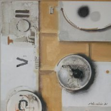 Arte: EXCLUSIVA Y SENSACIONAL OBRA, OLEO TELA, CREATIVA DE JAUME QUERALT. Lote 26804779