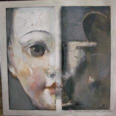 Arte: SERIE ONIRICA, MUÑECA DE JAUME QUERALT OLEO 100 X 100 CMS. Lote 26764551