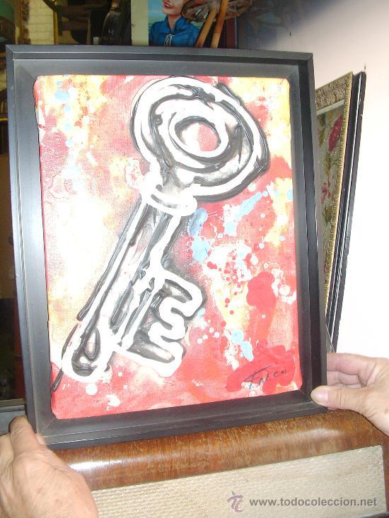 OBRA DE JOAQUIM FALCO, MEDIDAS OBRA 35 X 27 (CUADRO 41 X 33) CMS - MANRESA (Arte - Pintura - Pintura al Óleo Contemporánea )