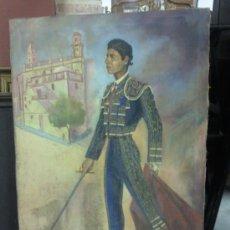 Arte: CUADRO OLEO LIENZO MOTIVO RAFAEL DE PAULA, FIRMADO J. LORENZO.. Lote 26560400