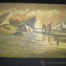 Arte: PINTURA SOBRE TABLILLA,S.XIX.. Lote 27228191