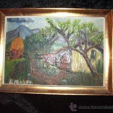 Arte: PAISAJE DE R MUÑOZ. Lote 27500839