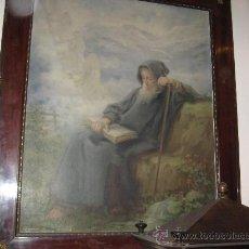 Arte: OLEO LIENZO - RICARDO VILLODAS Y DE LA TORRE - SAN PEDRO A LAS PUERTAS DEL CIELO -. Lote 26768111