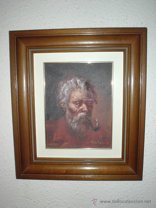 2 cuadros antiguos de marineros al oleo cuadro comprar for Marcos para pinturas