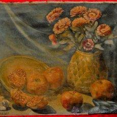 Arte: FIRMADO A. TOGORES LLACH. OLEO SOBRE TELA FECHADO DEL AÑO 1949. Lote 26685266