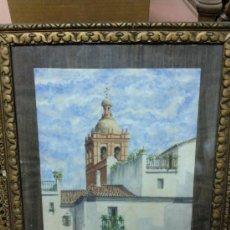 Arte: BONITA ACUARELA FIRMADA J.GARCIA.. Lote 27286835