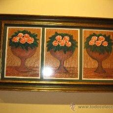Arte: COPAS CON FLORES. Lote 27483639