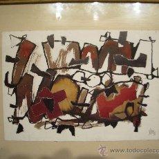 Arte: JUAN JOSE VERA PINTOR ARAGONES PERTENECIENTE GRUPO DEL PASO. Lote 26857439