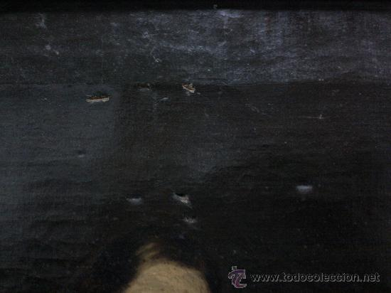 Arte: Cuadro oleo lienzo siglo XVIII (San Jose con niño). - Foto 5 - 26361938