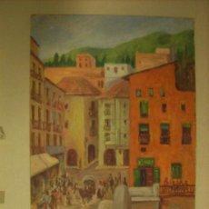 Arte: 2 ÓLEOS EN EL MISMO TABLERO DE 36X25 CM. PINTOR Y AÑO DESCONOCIDOS.. Lote 22450044