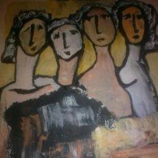 Arte: TINO POZA.-OLEO MIXTA. Lote 26334271