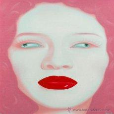 Arte: FENG ZHENGJIE (1968) CHINA PORTRAIT SERIES ÓLEO CONTEMPORÁNEO RETRATO PINTURA FIRMADO Y FECHADO 2004. Lote 27178988
