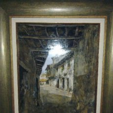 Arte: PASADIZO DE LA ALBERCA. SALAMANCA. OBRA DE EVARISTO PALACIOS.. Lote 23262465