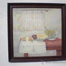 Arte: BODEGON AL OLEO CON AUTOR. Lote 23615958