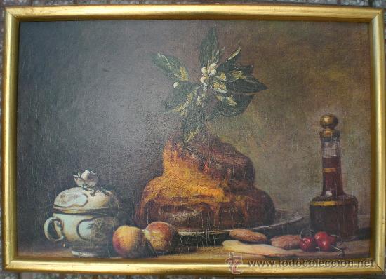 CUADRO BODEGON ANTIGUO (Arte - Pintura - Pintura al Óleo Moderna sin fecha definida)