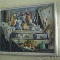 Arte: ORIGINAL CUADRO OLEO SOBRE TELA...SE ACEPTA EL PAGO EN VARIAS VECES. Lote 26669913