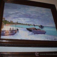 Arte: OLEO SOBRE LIENZO FIRMADO Y FECHADO. Lote 24176448