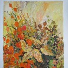 Arte: BODEGON DE FLORES -- 1950'S. Lote 26425097