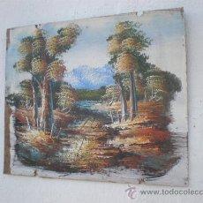 Arte: PINTURA EN TABLE. Lote 24582364