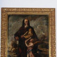 Arte: OLEO SOBRE TELA, SAN MATEO, S.XVIII. Lote 27319746