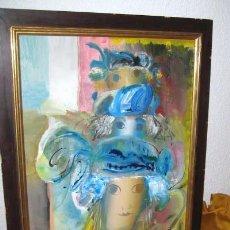 Arte: OLEO FECHADO 1987. TRIDIMENSIONAL. . ENVIO CERTIFICADO GRATIS¡¡¡. Lote 26034457