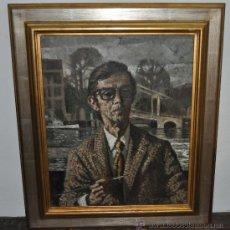 Kunst - MANUEL RICART SERRA (1913) OLEO SOBRE TELA. AUTORETRATO DEL ARTISTA - 26312896