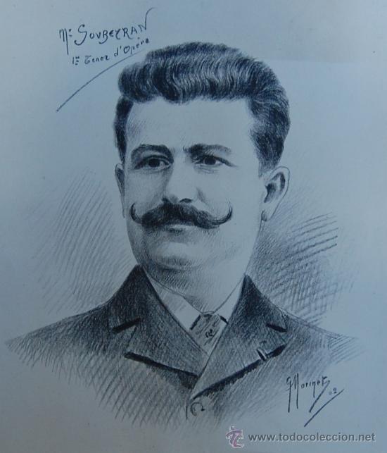 G. MORINET ( XIX-XX ). FRANCIA -- RETRATO DE 1902 (Arte - Pintura - Pintura al Óleo Moderna siglo XIX)