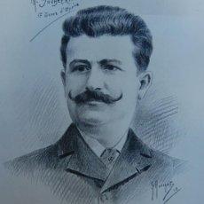 Arte: G. MORINET ( XIX-XX ). FRANCIA -- RETRATO DE 1902. Lote 26664630