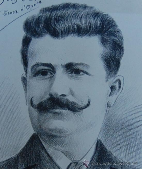 Arte: G. MORINET ( XIX-XX ). Francia -- Retrato de 1902 - Foto 2 - 26664630