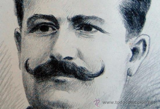 Arte: G. MORINET ( XIX-XX ). Francia -- Retrato de 1902 - Foto 3 - 26664630