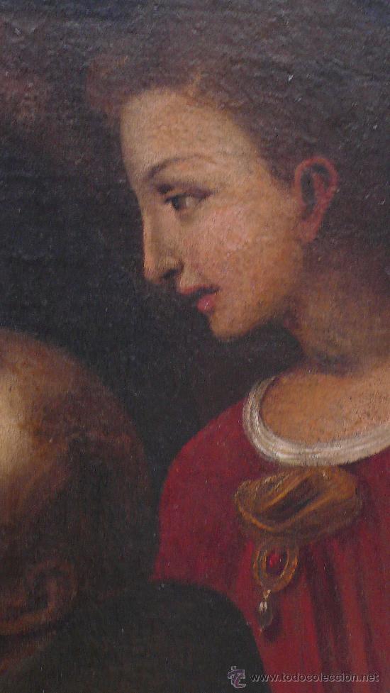 Arte: San Francisco de Asis, óleo sobre tela reentelado s. XVIII. 120x85 cm. - Foto 6 - 26603361